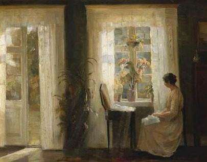 woman at sunny window.FB.